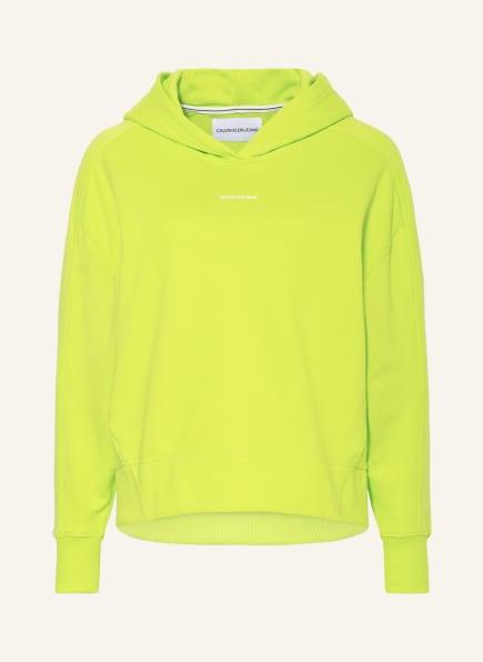 Calvin Klein Jeans Hoodie, Farbe: NEONGRÜN (Bild 1)
