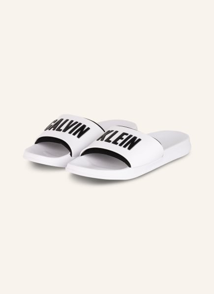 Calvin Klein Pantoletten, Farbe: WEISS (Bild 1)