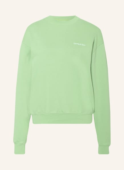 SPORTY & RICH Sweatshirt, Farbe: HELLGRÜN (Bild 1)