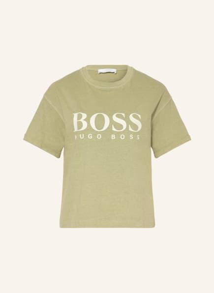 BOSS T-Shirt EVINA, Farbe: HELLGRÜN (Bild 1)