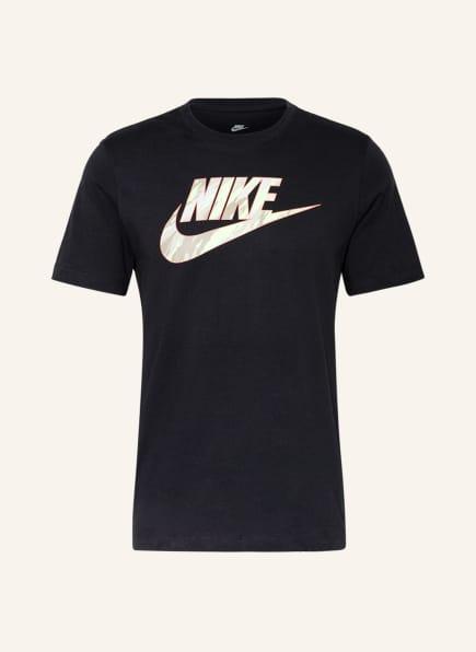 Nike T-Shirt ESSENTIAL CAMO SWOOSH, Farbe: SCHWARZ (Bild 1)