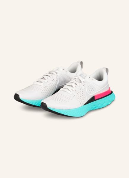 Nike Laufschuhe REACT INFINITY RUN FLYKNIT 2, Farbe: 005 PLATINUM TINT/WHITE-GREY FOG (Bild 1)