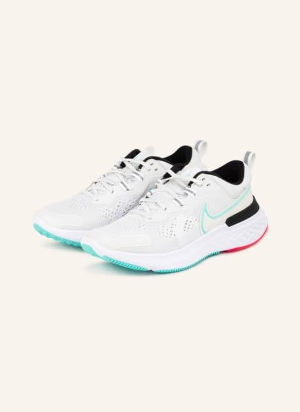 Nike Laufschuhe REACT MILER 2, Farbe: WEISSGOLD (Bild 1)