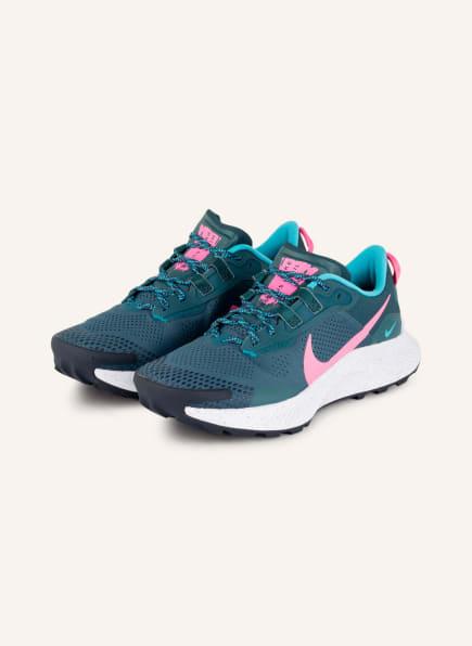 Nike Laufschuhe PEGASUS TRAIL 3, Farbe: PETROL/ PINK (Bild 1)