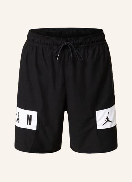 JORDAN Shorts DRI-FIT AIR, Farbe: SCHWARZ/ WEISS (Bild 1)
