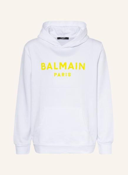 BALMAIN Hoodie, Farbe: WEISS (Bild 1)