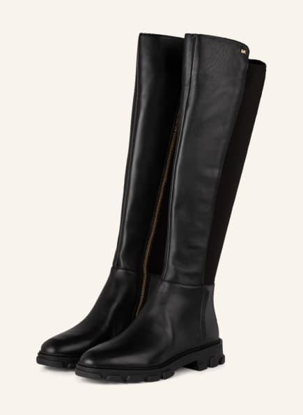 MICHAEL KORS Plateau-Stiefel RIDLEY, Farbe: 001 BLACK (Bild 1)