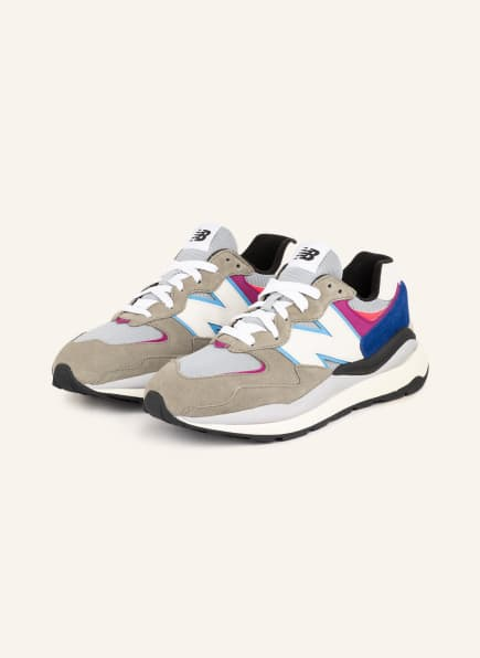 new balance Sneaker M5740, Farbe: GRAU/ BLAU/ WEISS (Bild 1)