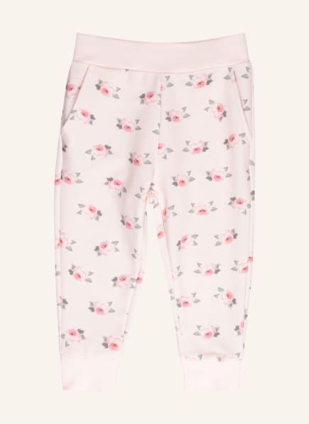 MONNALISA Sweatpants, Farbe: HELLROSA/ ROSA/ GRÜN (Bild 1)