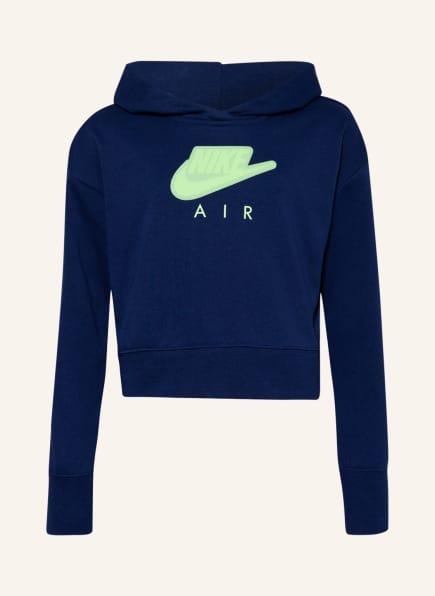 Nike Hoodie , Farbe: DUNKELBLAU (Bild 1)