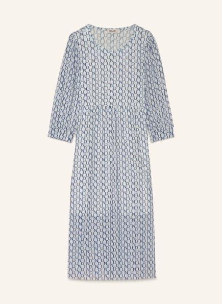BAUM UND PFERDGARTEN Kleid JULIANI aus Mesh , Farbe: HELLBLAU/ WEISS (Bild 1)