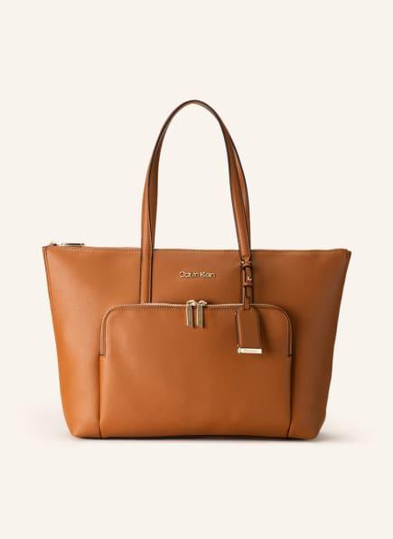 Calvin Klein Shopper, Farbe: BRAUN (Bild 1)