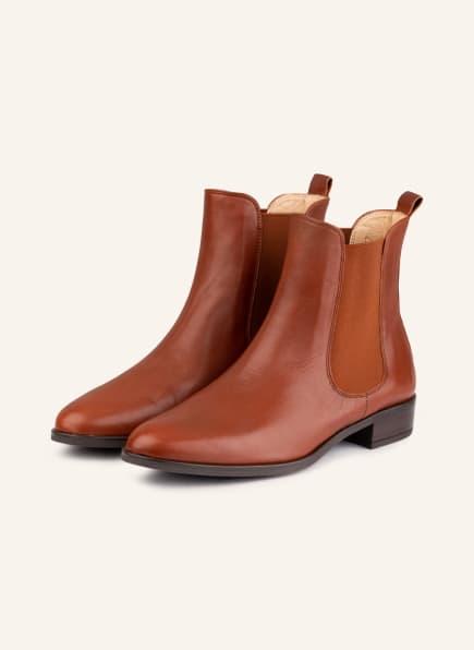 UNISA Chelsea-Boots BOYER, Farbe: COGNAC (Bild 1)