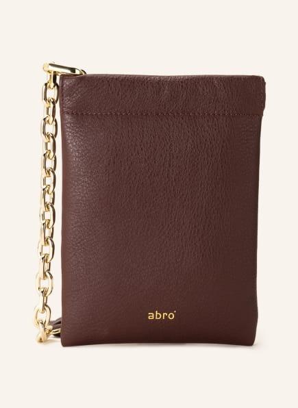 abro Smartphone-Tasche ELLA , Farbe: DUNKELROT (Bild 1)