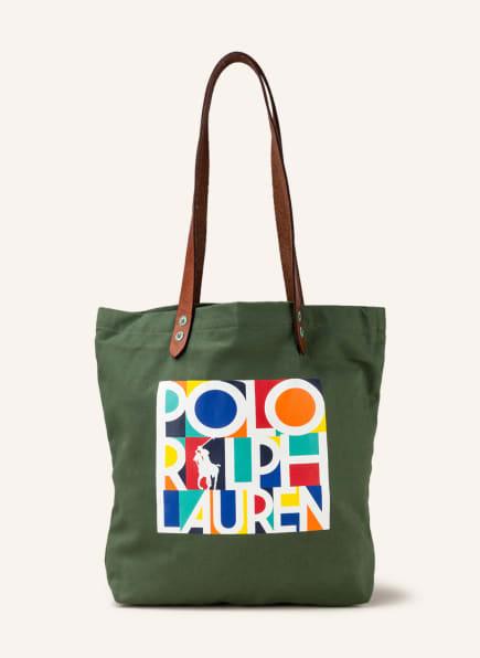 POLO RALPH LAUREN Shopper, Farbe: OLIV (Bild 1)