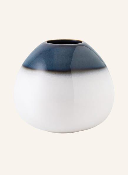 Villeroy & Boch Vase DROP SMALL, Farbe: BLAU/ WEISS (Bild 1)