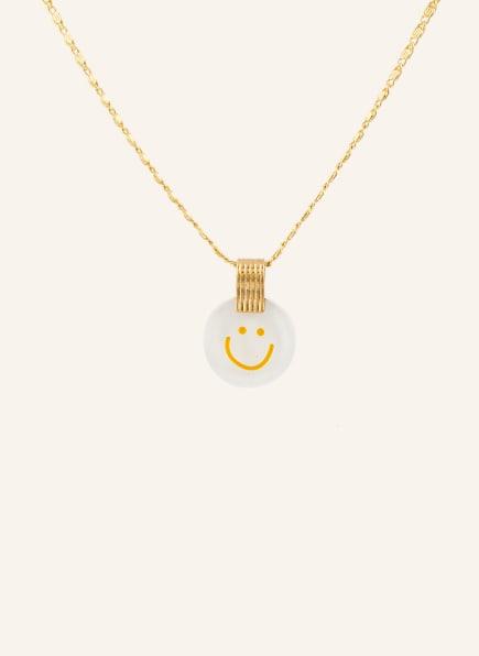 WALD Halskette SMALL SMILIE, Farbe: GOLD (Bild 1)