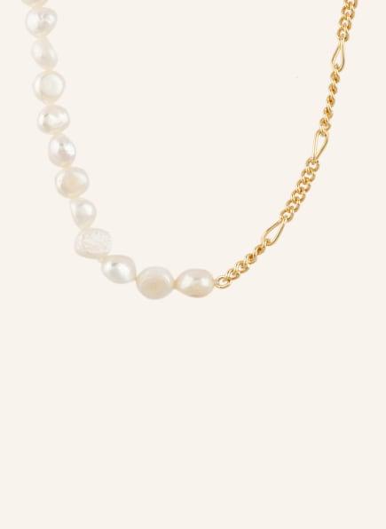 WALD Halskette PAS DE DEUX, Farbe: WEISS/ GOLD (Bild 1)