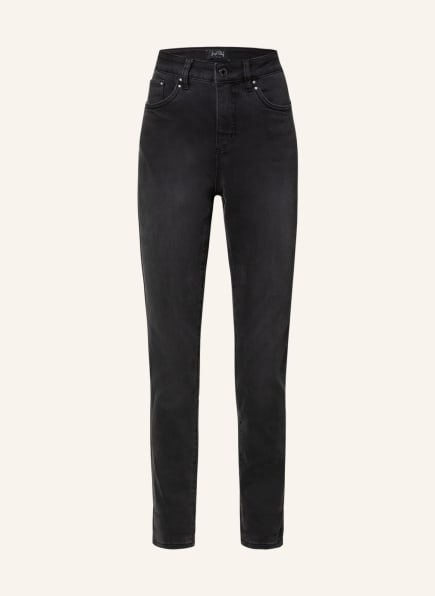 Joseph Ribkoff 7/8-Jeans mit Schmucksteibesatz, Farbe: 3075 GRANIT/GRAU (Bild 1)