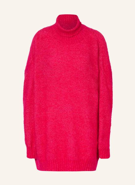 American Vintage Oversized-Pullover ZABIDOO mit Mohair, Farbe: FUCHSIA (Bild 1)