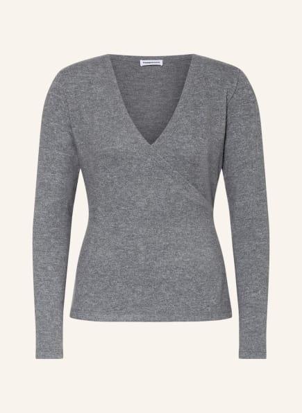 Passionata Lounge-Shirt KAI zum Wickeln, Farbe: GRAU (Bild 1)