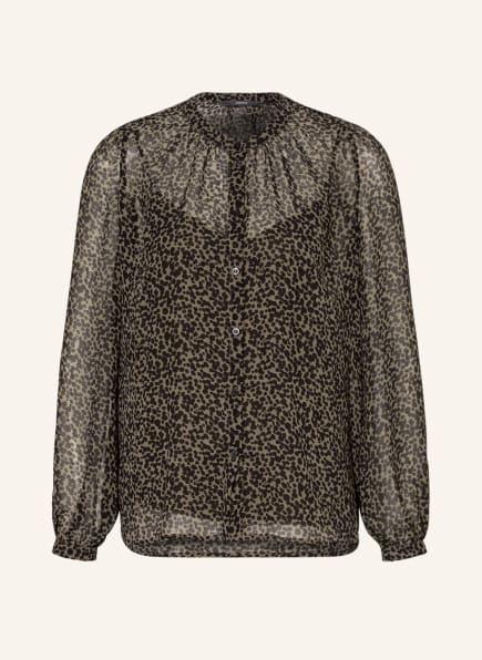 ESPRIT Bluse, Farbe: SCHWARZ/ OLIV (Bild 1)