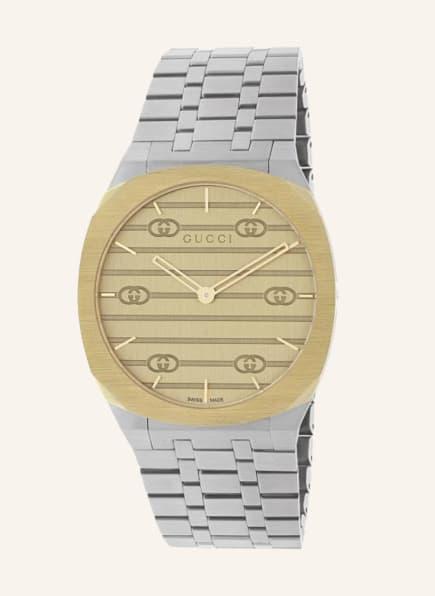 GUCCI Armbanduhr GUCCI 25H, Farbe: SILBER/ GOLD (Bild 1)