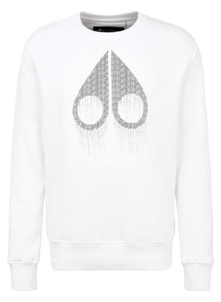 MOOSE KNUCKLES Sweatshirt, Farbe: WEISS (Bild 1)