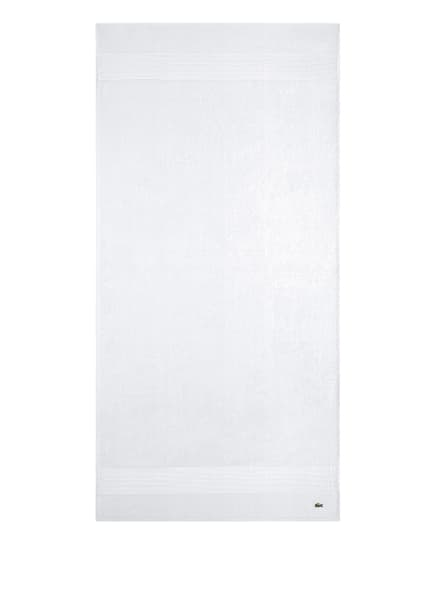 LACOSTE Handtuch, Farbe: WEISS (Bild 1)
