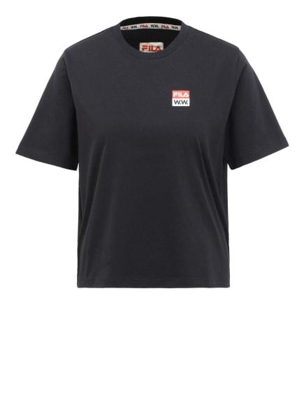 FILA by Wood Wood T-Shirt, Farbe: SCHWARZ (Bild 1)