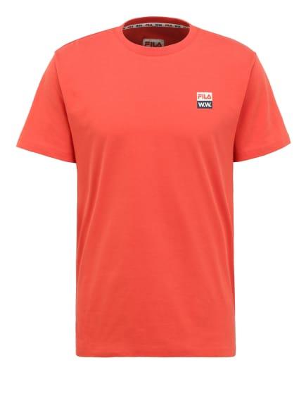 FILA by Wood Wood T-Shirt, Farbe: ORANGE (Bild 1)