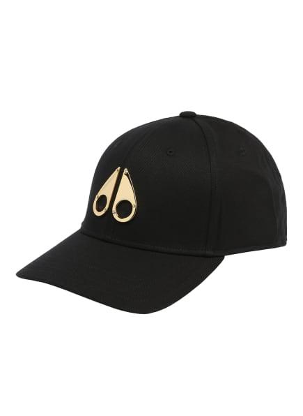 MOOSE KNUCKLES Cap, Farbe: SCHWARZ/ GOLD (Bild 1)