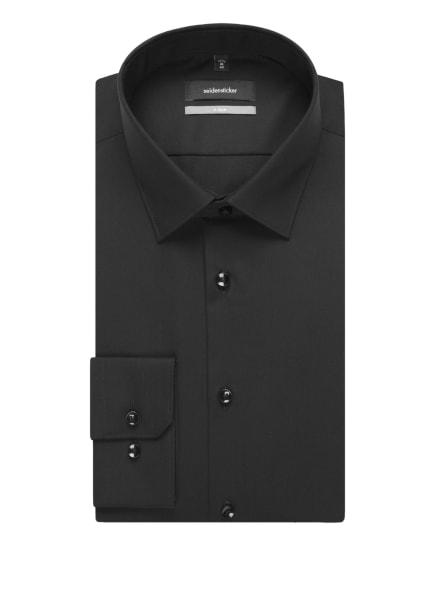 seidensticker Hemd X-Slim Fit, Farbe: SCHWARZ (Bild 1)