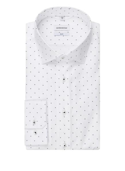 seidensticker Hemd Slim Fit, Farbe: WEISS (Bild 1)
