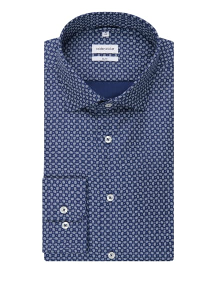 seidensticker Hemd Slim Fit, Farbe: BLAU (Bild 1)