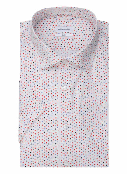 seidensticker Hemd Slim Fit, Farbe: ROT (Bild 1)