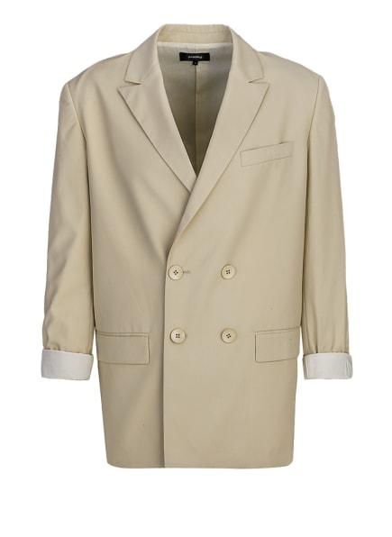 tigha Loose Fitted Zweireiher Blazer ELWIN CLEAN 21031 Loose Fit, Farbe: BEIGE (Bild 1)
