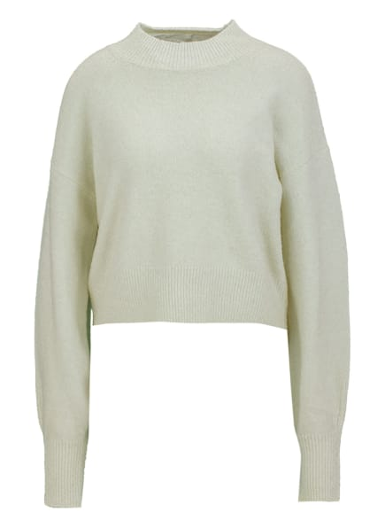 YOUNG POETS SOCIETY Pullover YUNA KNIT CROPPED 214 Regular Fit, Farbe: WEISS (Bild 1)
