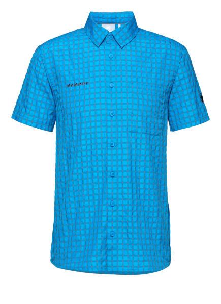 MAMMUT Kurzarmhemd LENNI, Farbe: BLAU (Bild 1)