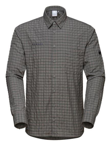 MAMMUT Langarm-Hemd LENNI, Farbe: GRAU (Bild 1)
