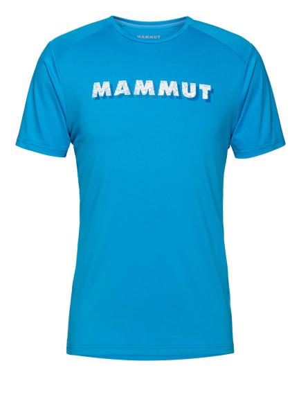 MAMMUT T-Shirt SPLIDE LOGO, Farbe: BLAU (Bild 1)