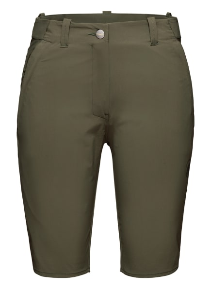 MAMMUT Shorts RUNBOLD, Farbe: GRÜN (Bild 1)