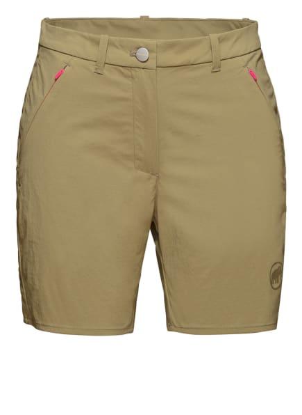 MAMMUT Shorts HIKING, Farbe: GRÜN (Bild 1)