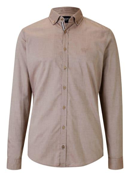 JOOP! JEANS Hemd HAVEN Regular Fit, Farbe: BEIGE (Bild 1)