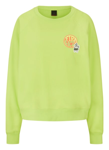 FIRE+ICE Sweatshirt RAMIRA, Farbe: NEONGRÜN (Bild 1)