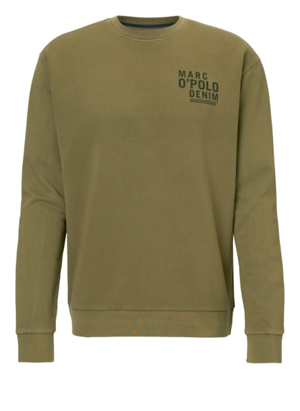 Marc O'Polo DENIM Sweatshirt, Farbe: GRÜN (Bild 1)