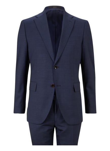 windsor. Anzug Shaped Fit, Farbe: DUNKELBLAU/ BLAU (Bild 1)