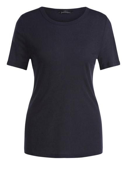 SET T-Shirt BASIC AUS RIPPE, Farbe: SCHWARZ (Bild 1)