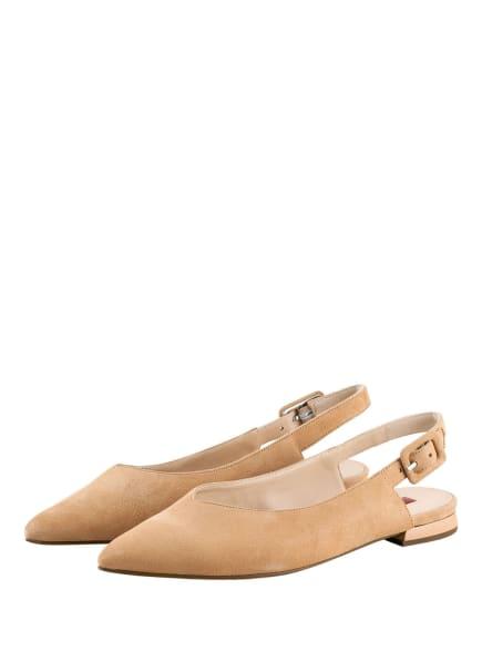 Högl Ballerinas BELLA, Farbe: BRAUN (Bild 1)