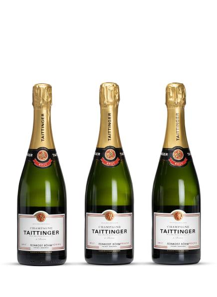 Feinkost Böhm Champagner RÈSERVE TROCKEN 0,75L (3 x 0,75L), Farbe: WEISS (Bild 1)